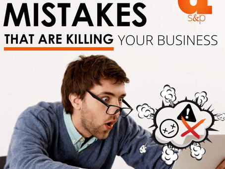 The 5 Website Mistakes That Are Killing Your Business