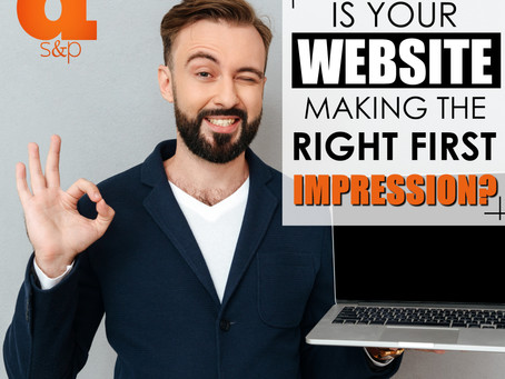 First Impressions Matter: What Does Your Website Say About Your Business?