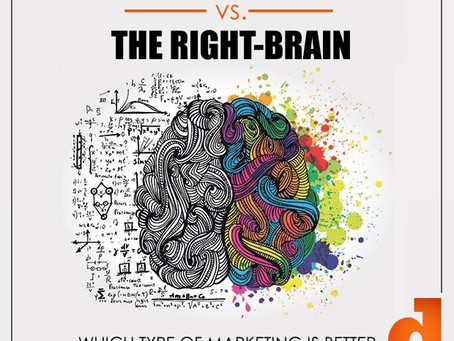 The Left Brain vs. The Right Brain. Which Type Of Marketing Is Better For Your Business?