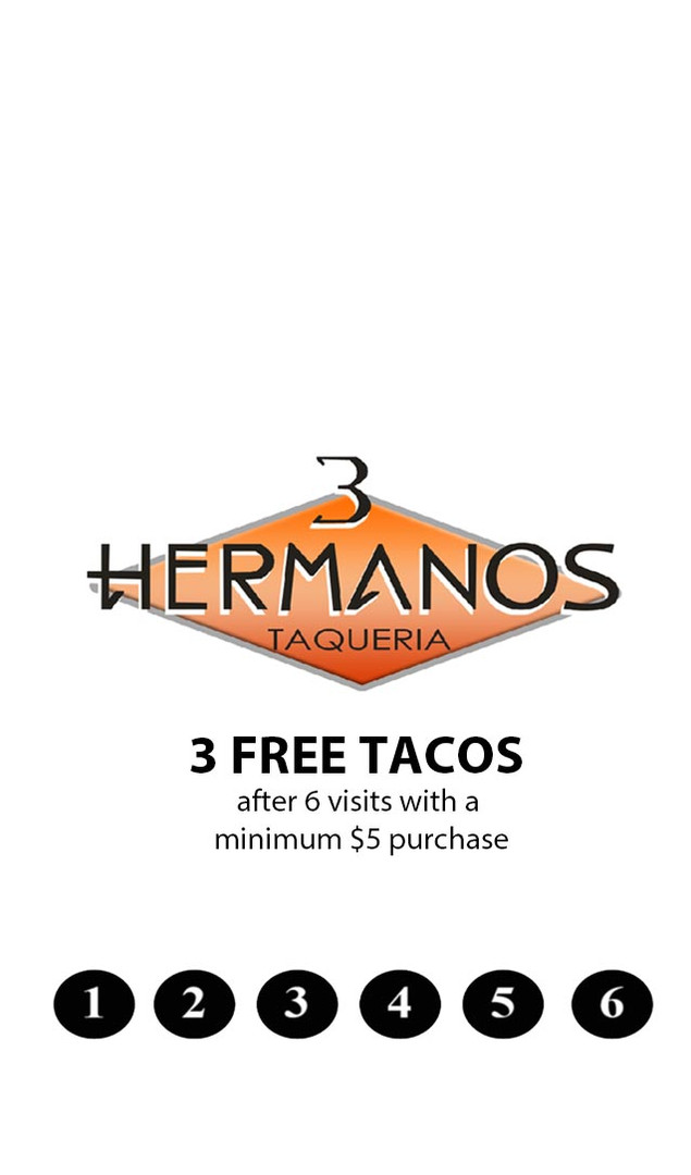 3 Hermanos Loyalty Card front.jpg