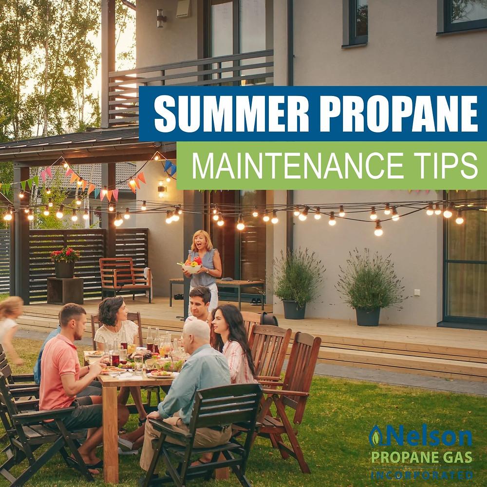 SUMMER PROPANE MAINTENANCE TIPS