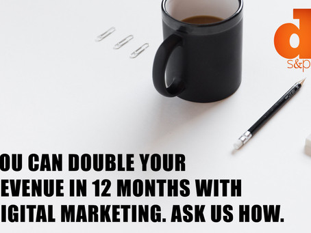 Double your revenue in 12 months. Ask us how...