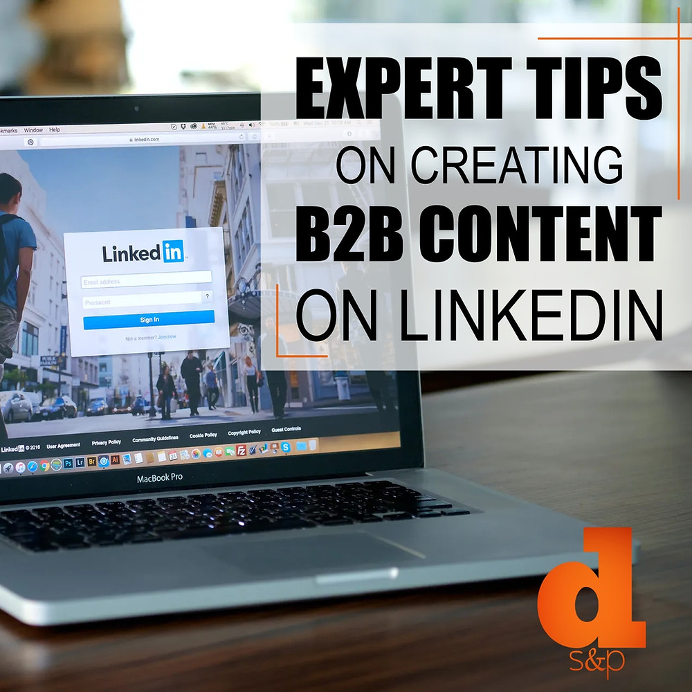 tips on b2b linkedin content