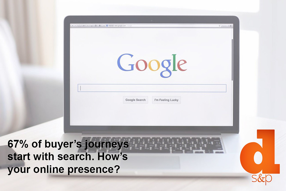 67% Of Buyer's Journeys Start With Search. How's Your Online Presence? - DS&P