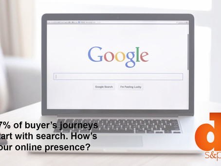 67% Of Buyer's Journeys Start With Search. How's Your Online Presence?
