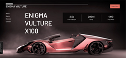 Enigma Vulture dynamic website