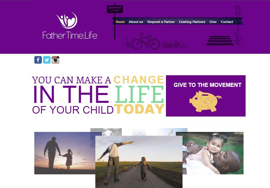 Father Time Website