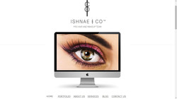 Ishnae & Co website