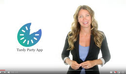 tardyparty This is a mobile app, branding, website and social...