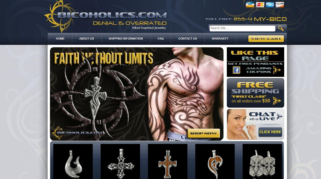 Bico Jewelry Website