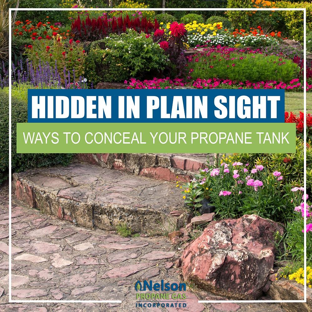 Hide Your Propane Tank