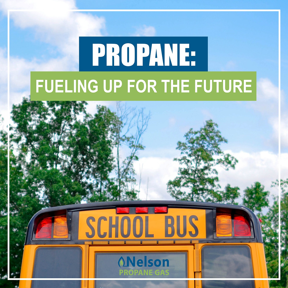 propane fueling school bus