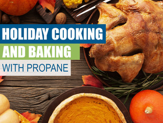 Holiday Cooking and Baking With Propane