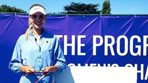 Tennis First Women Fly The Flag!