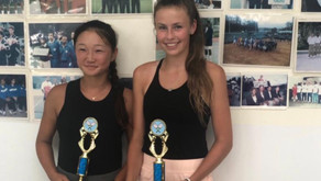 Purser Reaches Doubles Final in ITF Grade 5