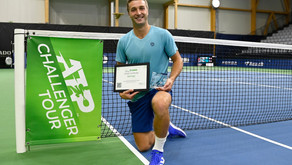 First Challenger title for Broady