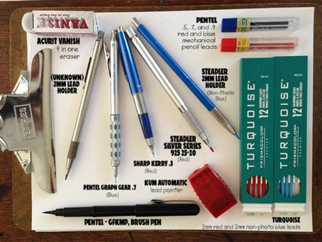 Artist's Tools of the Trade