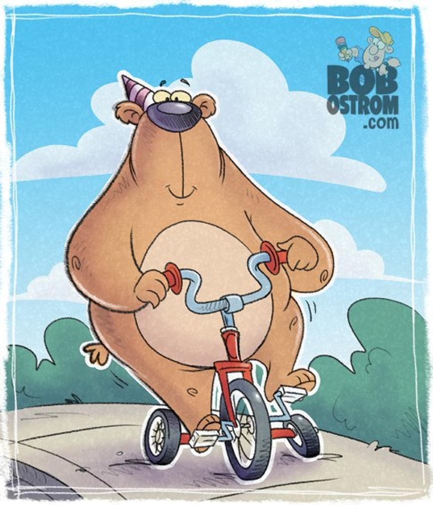 children's book illustration, bob ostrom