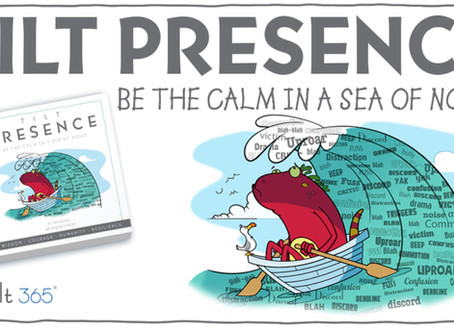 Tilt Presence. Be the calm in a sea of noise