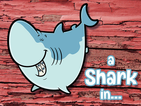 Cartoon Shark Illustration Start to Finish – Adobe Illustrator CC