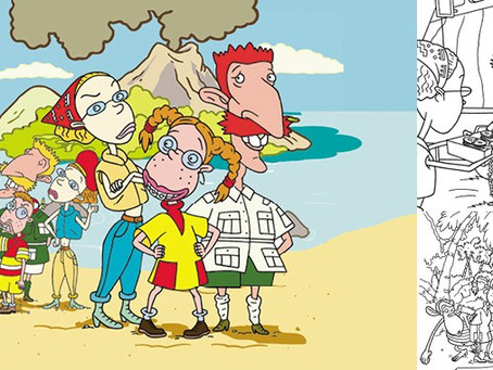 Wild Thornberrys – An Inside look at Illustrating Licensed Art for Picture Books.