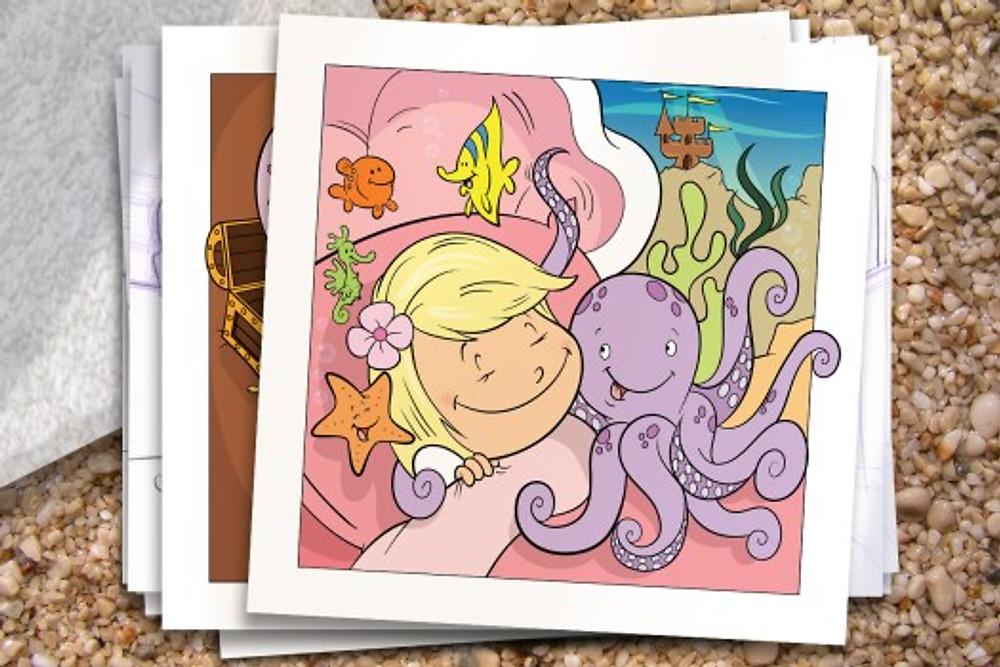 Addie-ollie-childrens book illustration page 8 Bob Ostrom
