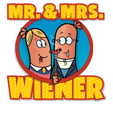 Mr. & Mrs Wiener Logo