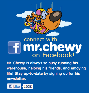 Connect with Mr. Chewy