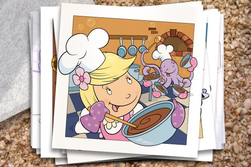 Addie-ollie-childrens book illustration page 16 by bob Ostrom