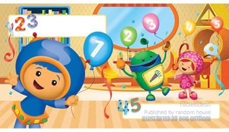 Nickelodeon's Umizoomi – Children's Book Illustration