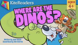 ebook, dinosaur, dinos, bob ostrom, julia dweck, amazon