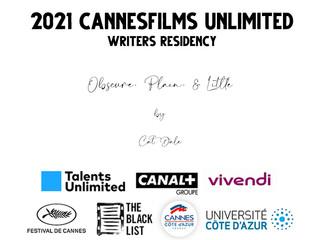 2021 CANNES WRITERS RESIDENCY