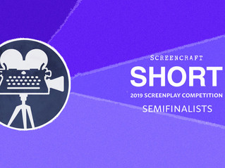 Semifinals for Rubber and Glue in the Page Awards and ScreenCraft Short Competitions
