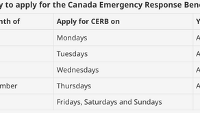 Canada Emergency Response Benefit - Application Process Going Live Starting Monday - April 6