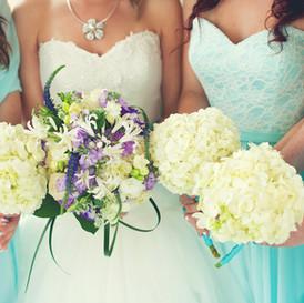 Bride and Bridesmaids Key West