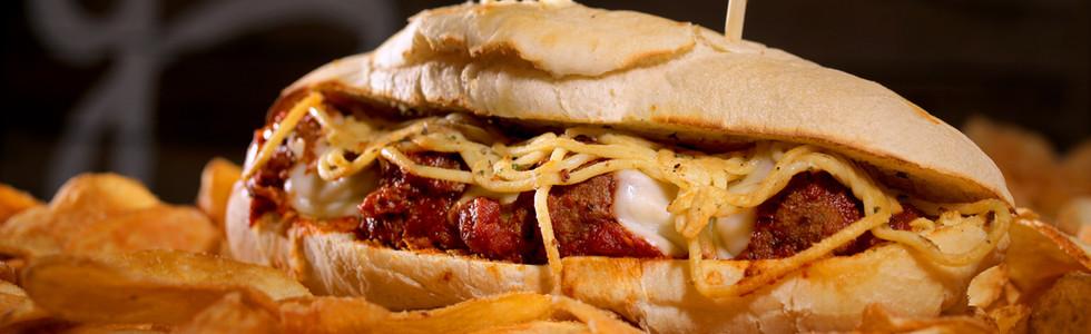 Spaghetti & Meatball Sub