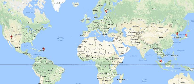 BXB Capital key location map