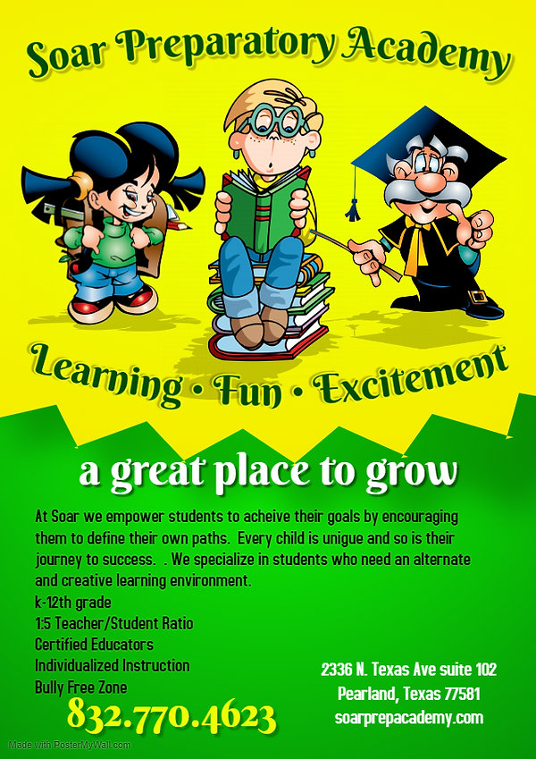 Copy of School Poster template - Made wi