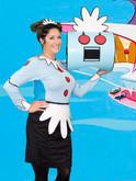 Leesie Foxx Rosie the Robot Dress Shop Ad