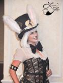 Leesie Foxx White Rabbit Steampunk