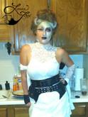 Leesie Foxx Bride of Frankenstein Halloween 2014