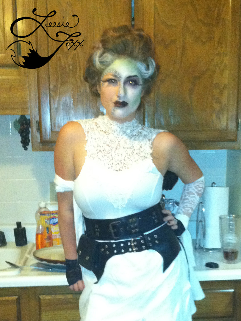 Leesie Foxx Bride of Frankenstein Halloween 2014