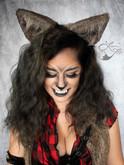 Leesie Foxx Werewolf Steampunk Makeup