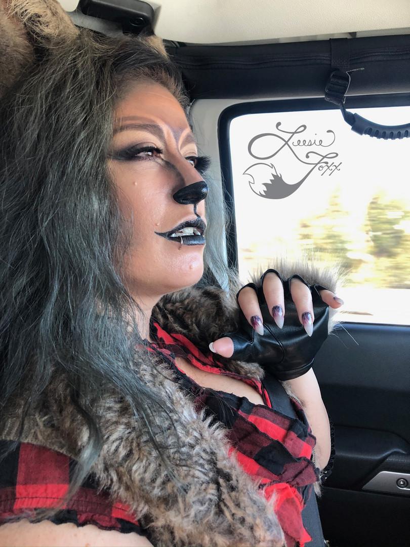 Leesie Foxx Werewolf Steampunk Oxnard Steampunkfest 2019