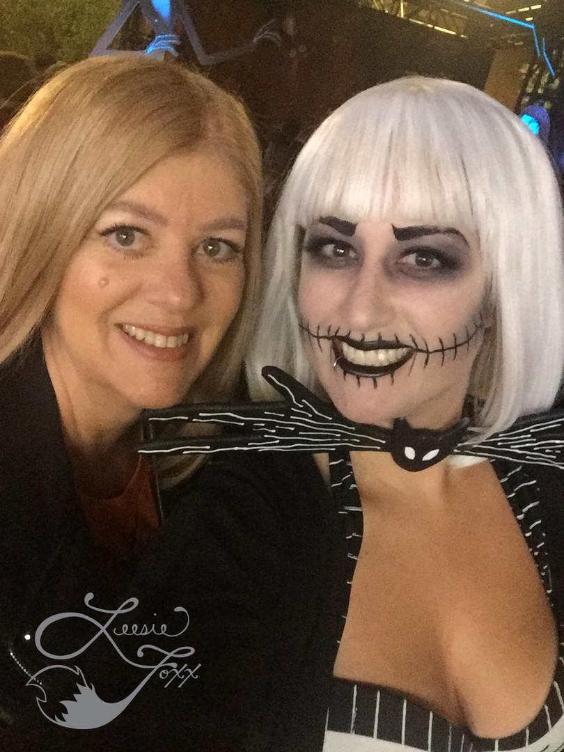 Leesie Foxx Jack Skellington Viewing Party
