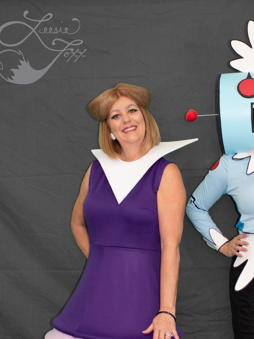 Leesie Foxx Jane Jetson & Rosie the Robot