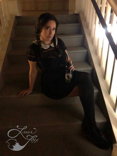Leesie Foxx Wednesday Addams Oxnard Scare Tour 2019