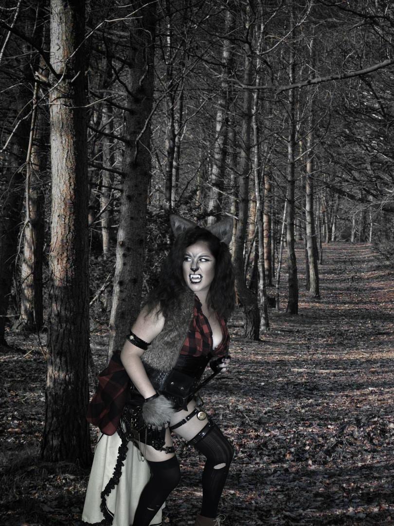 Leesie Foxx Werewolf Steampunk Wood Trek
