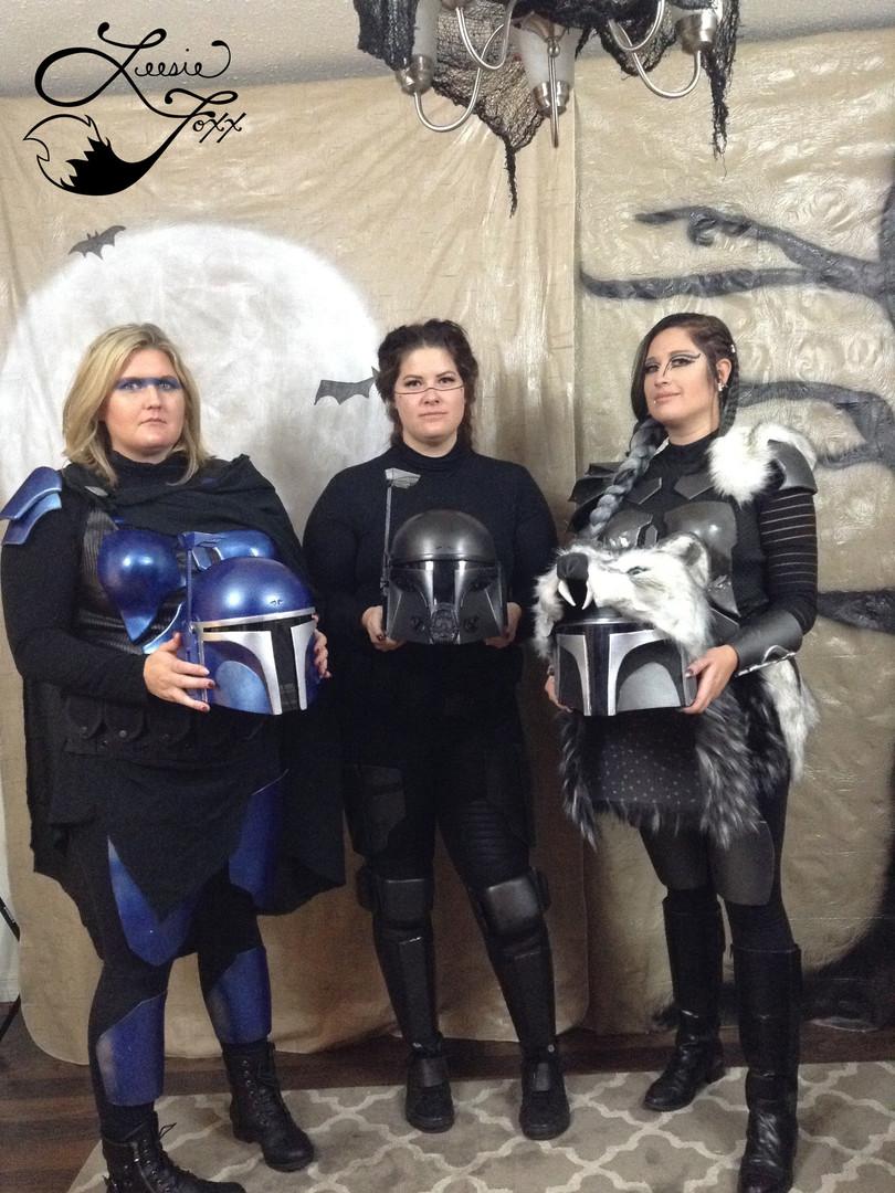 Leesie Foxx Mandalorian Halloween 2019