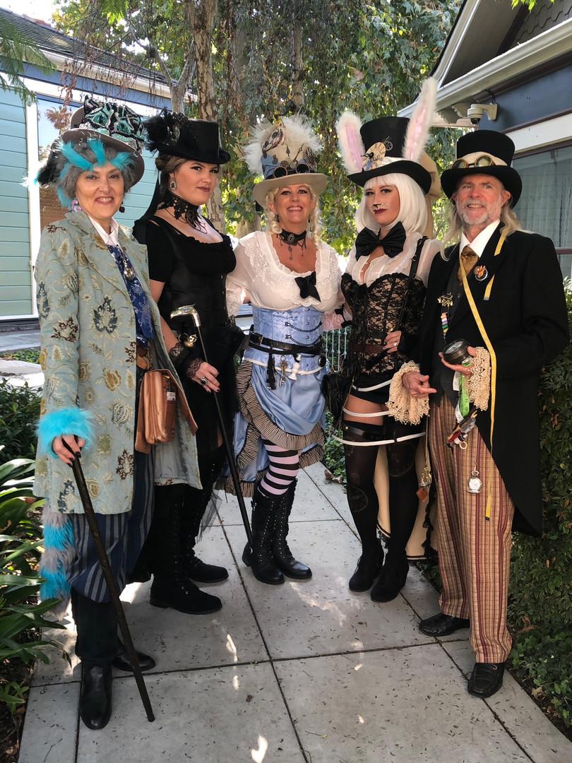 Leesie Foxx White Rabbit Steampunk Alice Group